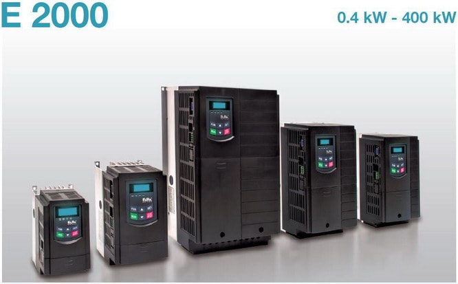 Los convertidores de frecuencia Eura Drives E2000