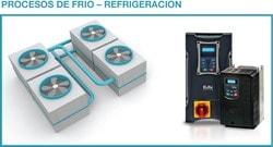 Eura Drives: Para procesos de frio o refrigeración