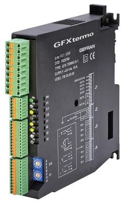 GFXTERMO4 Controlador modular de 4 zonas