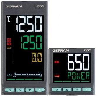 Gefran presenta sus nuevos reguladores de temperatura PID serie 650/1250