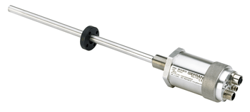 Transmisor lineal con tecnología ONDA para insertar en el interior de los cilindros hidráulicos