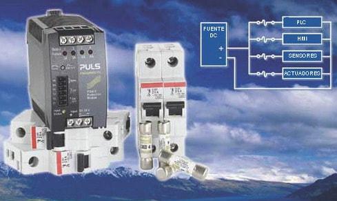 PISA Un sistema de protección perfecto, del fabricante PULS, el módulo reducido y económico para el sector industrial.