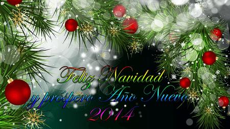 Feliz Navidad 2013 y próspero año 2014