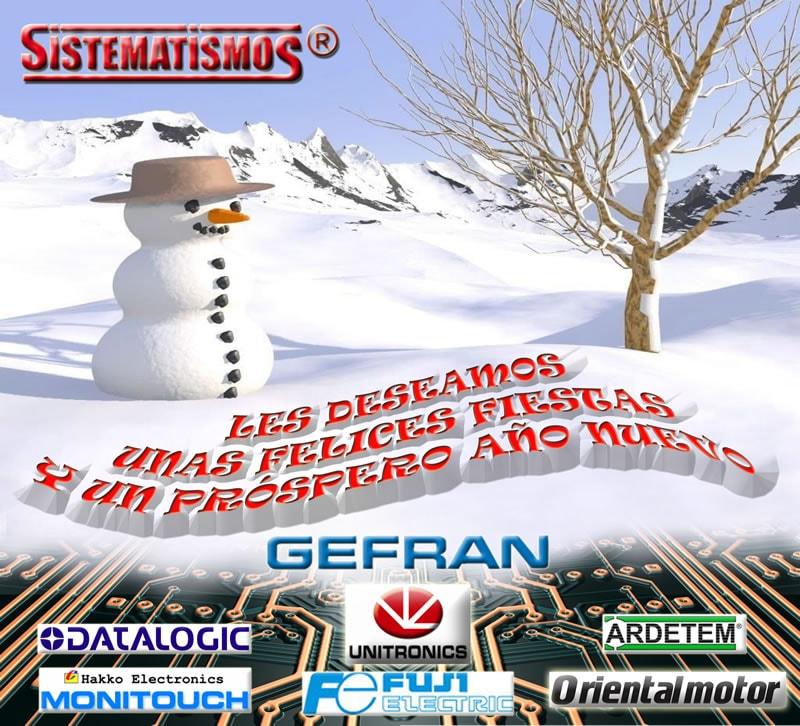 Sistematismos SL Les deséa unas felices Fiestas y un próspero año 2015