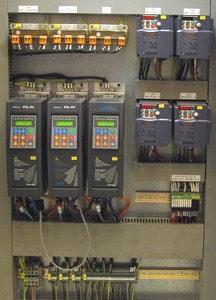 Instalación servo-drives GEFRAN y variadores FUJI