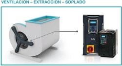 Eura Drives: Para máquinas y procesos que precisen soplado, extracción o ventilación